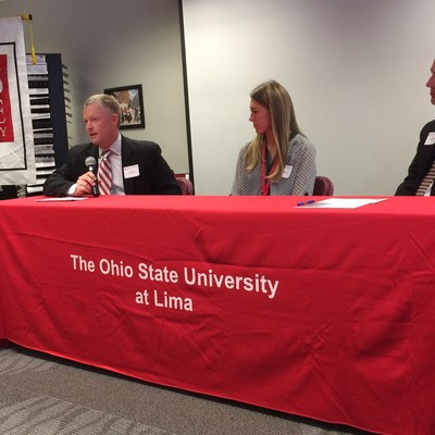 Chad shared with guests at an annual Advocates luncheon how he was able to make the most of the many opportunities provided to him as an Ohio State student.