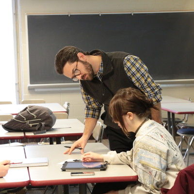 David Hartwig's first year English composition class at Ohio State Lima.