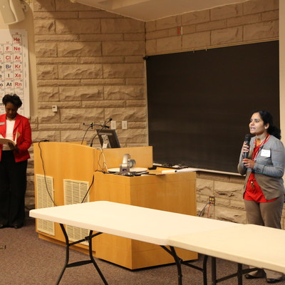 Ohio State Lima STEM Steps; Dr. Mohan and Dean Gilbert welcome students