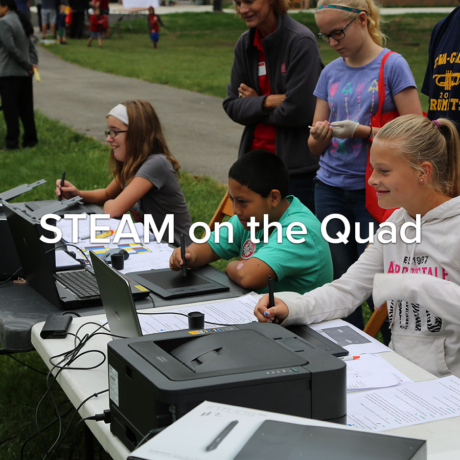 STEAM on the Quad
