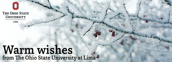 Warm wishes from The Ohio State University at Lima