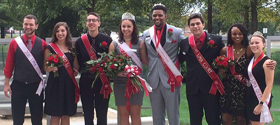 2017 Ohio State Lima Homecoming Court